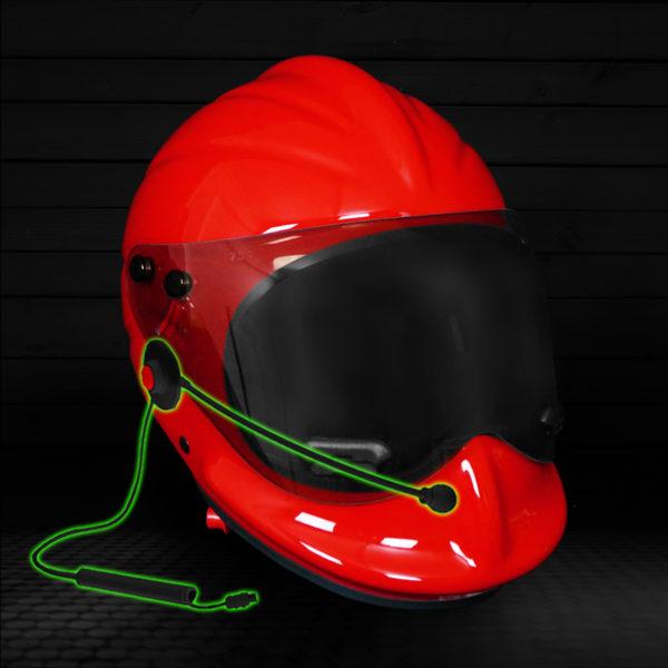 Headset for VHF Radio Communications